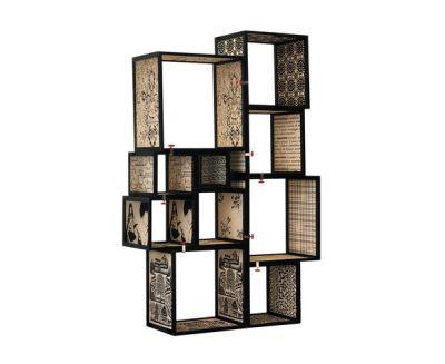 bibliothèque seletti assemblage