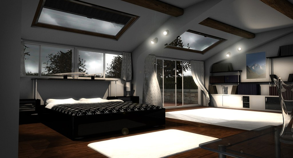 Chambre tres design for Decoration chambre design