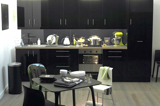 table rabattable cuisine paris table de mixage rane. Black Bedroom Furniture Sets. Home Design Ideas