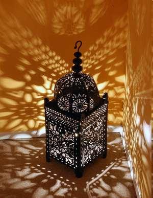 lampe marocaine a poser