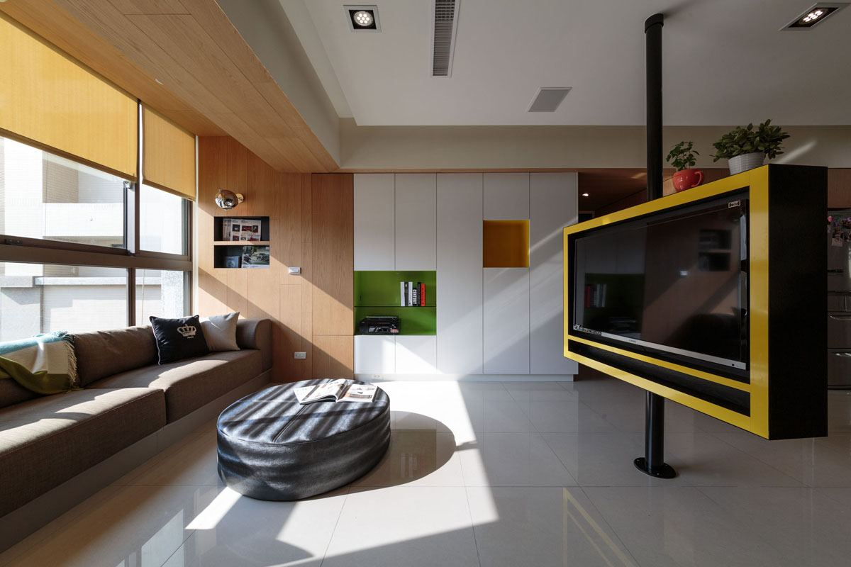 un appartement design taiwan meubles